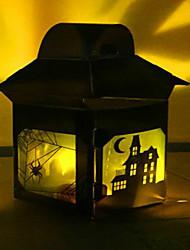 do dia das bruxas caixa de decoração pvc bar restaurante cena atmosfera lâmpada de mesa adereços pendurar artigos de decoração cor