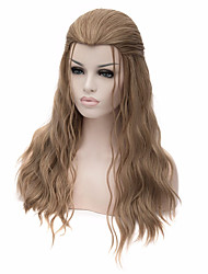 Cosplay Wigs Long Flaxen Synthetic Anime Hair Cosplay Halloween Men Hairstyle Wig