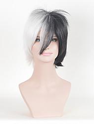 1b pelucas sintéticas cosplay de Europa y América / blanco multicolor rizado mujeres de la moda