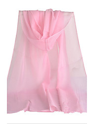 Solid Color Chiffon Scarf Female Long Section Of The Spring And Autumn Women'S Scarves Summer Sun Shawl Scarf