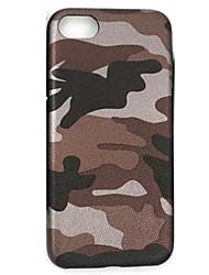 Для Ультратонкий Кейс для Задняя крышка Кейс для Камуфляж Мягкий Искусственная кожа AppleiPhone 7 Plus / iPhone 7 / iPhone 6s Plus/6 Plus