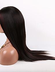 16-26 polegadas 10a reta brasileiro virgem frente cabelo rendas perucas peruca de cabelo humano para mulheres de moda