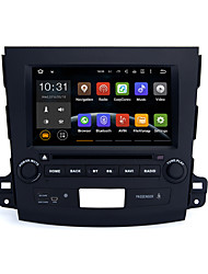 8quad núcleo 1024x600 androide 5.1.1 dvd coche para Mitsubishi Outlander 2006-2012 BT 3G WIFI RDS enlace espejo