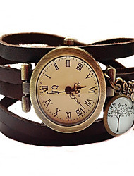 "Wrap Watch Vintage ""Tree II"" Bracelet Watch women Wrist Watch relogio feminino hommes montre"