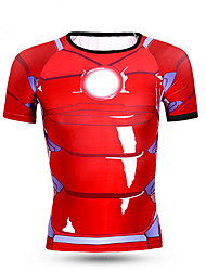 Sports Cycling Jersey Men's Short Sleeve Bike Breathable / Quick Dry / Comfortable Tops LYCRA® Classic SummerExercise & Fitness /