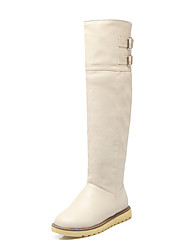 Women's Boots Fall / Winter Riding Boots Dress Wedge Heel Others Black / Yellow / Beige Walking
