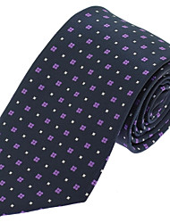 Men Wedding Party Casual Necktie Tie Polyester Silk
