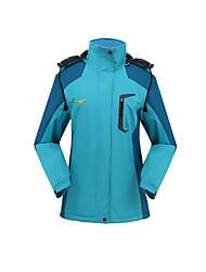 Wandern Softshell Jacken Unisex warm halten / Windundurchlässig / tragbar Winter Terylen Grün / Blau / Purpur / PurpurrotM / L / XL / XXL