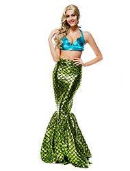 Women's  Cosplay Mermaid Tail Fancy Dress Costume