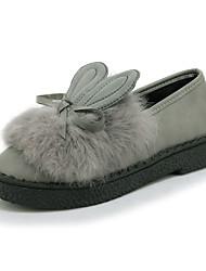 Women's Loafers & Slip-Ons Spring / Fall / Winter Comfort / Flats PU Outdoor / Dress / Casual Flat Heel Slip-on