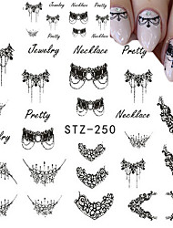 1pcs Lace Applique Nail Jewelry Watermark