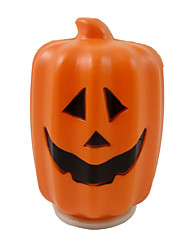 1PC Halloween Decorations Bar Items Long Pumpkin Lamp Led Switch