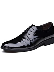 Westland's Men's Oxfords/Comfort Leather/Business Style/Office & Career/ Casual Dress/Ruched/Black