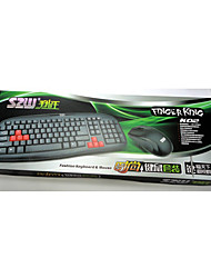 Finger K02 P  U Keyboard Or Game King Suit Office Internet Cafes Suit Mute Durable Wired Keyboard