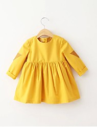 Girls' Casual/Daily Solid Blouse,Cotton All Seasons