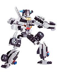 Building Blocks For Gift  Building Blocks Model & Building Toy Car / Robot Plastic Above 6 Black / Gray Toys