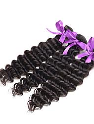 6A Brazilian Deep Curly Virgin Hair 3Pcs Unprocessed Brazilian Virgin Hair Curly Human Hair Extensions Deep Wave