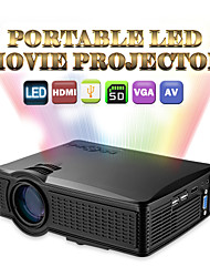 1500-Lumen-Heimkinokinofilm Fußballspiel tragbare Mini-LCD-LED-Projektor Stütz 1080p HMDI vga av usb sd mhl