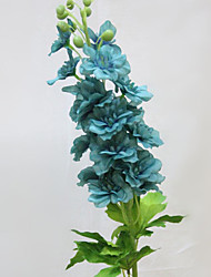 High Quality Artificial Delphiniums Silk Flower/Blue