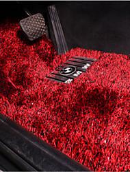 a parte de trás do tapete do assoalho do carro de alta lã tapetes de carro tapete