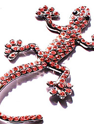 House Lizard Diamond Metal Car Sticker Crystal Diamond