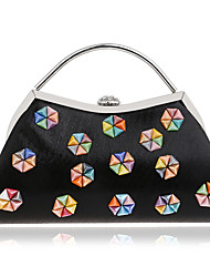 L.west Women's high-end elegant flower dinner ladies handbags