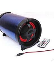 Dechang haut-parleurs audio 12v automobile de moto véhicule batterie de 12 volts 5 pouces avec un caisson de basses
