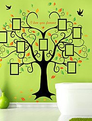Wall  Photo Stickers Wall Decals Big Tree Feature Removable Washable PVC