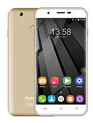 "OUKITEL U7 PLUS 5.5 "" Android 6.0 Smartphone 4G ( Double SIM Quad Core 13 MP 2GB + 16 GB Rose Gris Doré )"