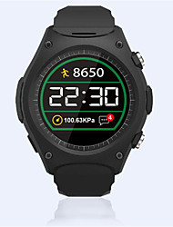 Sports de plein air smartwatch fréquence cardiaque pression d'air température altitude mesure appel bluetooth pour ios android