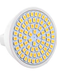 7W GU5.3(MR16) Spot LED MR16 72 SMD 2835 600-700 lm Blanc Chaud / Blanc Froid Décorative 9-30 V 1 pièce