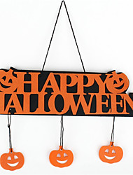 Halloween Halloween Decoration Halloween Happy Hanging Tag Window Decoration Pumpkin Hanging