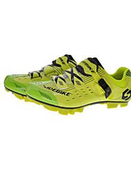Cycling Shoes Unisex Outdoor / Mountain Bike Sneakers Damping / Cushioning Yellow-sidebike