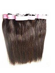 wholesale cheap 7a brazilian straight hair weave 1kg 20pieces lot brazilian virgin hair human hair color 1b