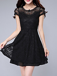 2016 Summer New Retro Women's Lace Dress