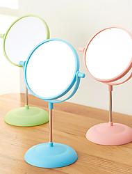 Настольное зеркало Современный Синий / Зеленый / Розовый,Высокое качество Зеркало