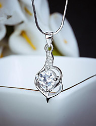 Women's Jewelry S925 Silver Zircon Charm