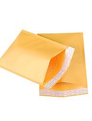 quatre 38cm * 50cm 4cm jaune kraft bulle sacs par paquet