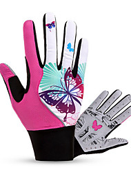 Activity/ Sports Gloves Cycling/Bike Women's Full-finger Gloves Keep Warm / Windproof / Wearable / Breathable Spring