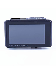5 Million Pixel HD 2.7 Inch 140 Degree Ultra Wide Angle Driving Recorder