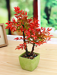 1PCS Graceful Miniascape Fake Plants Tree Home Decor Artificial Flower