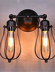 American Double Bedroom Bedside Wall Lamp Grapefruit Township / Living Room Balcony Staircase Aisle Lamp
