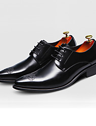 Men's Oxfords Spring / Fall / Winter Styles / Pointed Toe Leather Wedding / Office & Career / Party & Evening / Casual