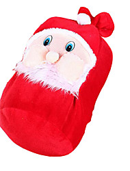 Bijoux de Vacances Rouge Velours Accessoires de Cosplay Noël