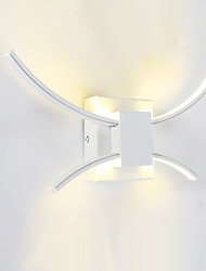 AC 85-265 15W LED Integrado Moderno/ Contemporáneo Pintura Característica for LED,Luz Ambiente Candelabro de pared Luz de pared