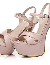 Women's Sandals Summer Heels / Platform / Sandals Patent Leather Party & Evening / Dress / Casual Stiletto Heel  / Pink