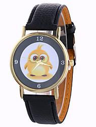 Women's Fashion Analog Stripe Owl Ladies' Christmas Display Strap Bohemia Quartz Wrist Watch