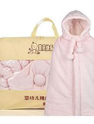 Girl Casual/Daily Solid Sleepwear,Cotton Winter / Fall Long Sleeve Long