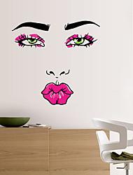 Personnes Stickers muraux Stickers avion Stickers muraux décoratifs,PVC Matériel Lavable / Amovible Décoration d'intérieur Wall Decal