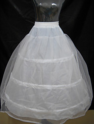 Slips Ball Gown Slip Floor-length 2 Polyester White